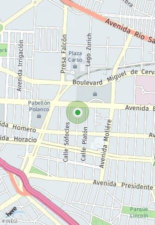 Peta lokasi Sócrates 109