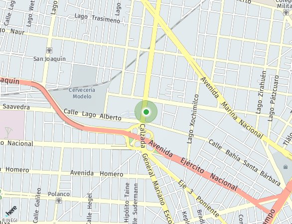 Peta lokasi Be Grand® Alto Polanco - Preventa de departamentos Torre IV