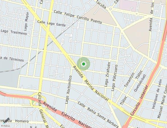 Peta lokasi Inspiria Anahuac