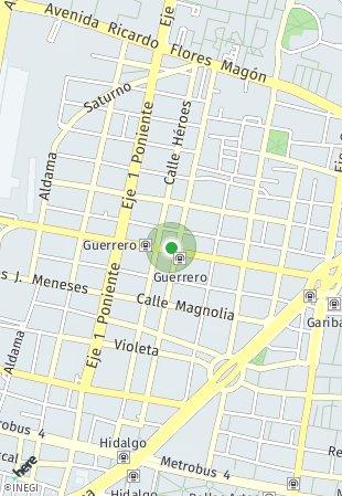 Peta lokasi Lerdo