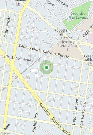 Peta lokasi Park del Carmen