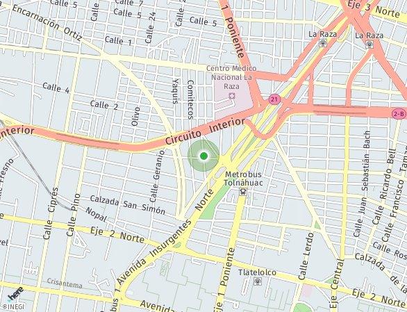 Peta lokasi Pople