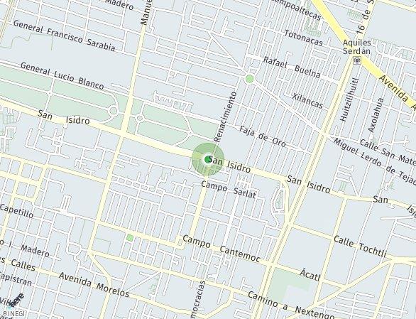 Peta lokasi San Isidro 143