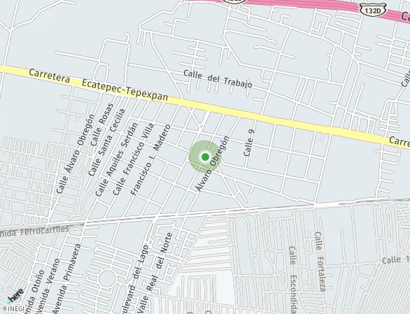 Peta lokasi Centro Alpes