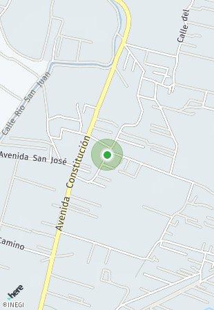 Peta lokasi Dataland Mexico