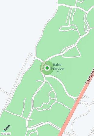 Peta lokasi Bahia Principe Residences