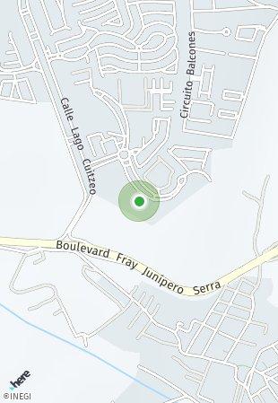 Peta lokasi Raju Garden Altos Juriquilla