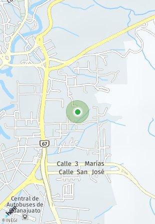 Peta lokasi Test Unit Project