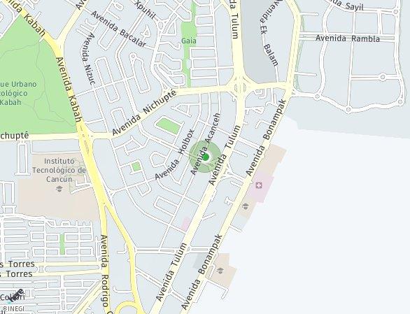 Peta lokasi Icono Towers Cancun