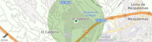 Mapa El Tablero