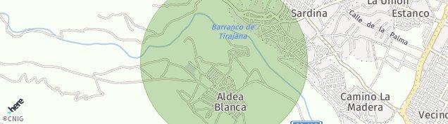 Mapa Aldea Blanca de Las Palmas