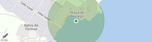 Mapa Arinaga