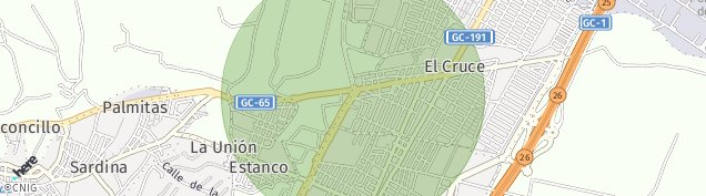 Mapa Vecindario