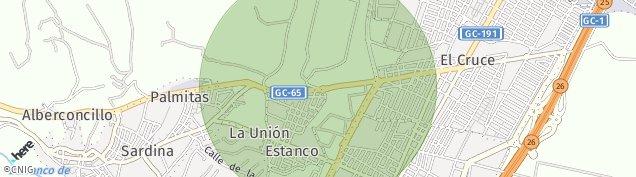 Mapa La Unión de Las Palmas