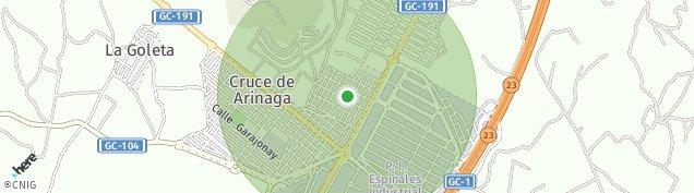 Mapa Cruce de Arinaga