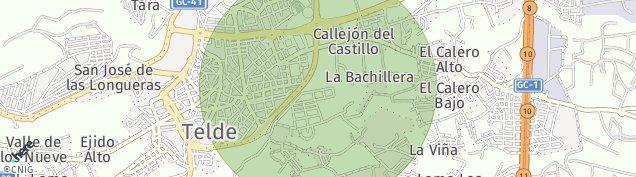 Mapa San Gregorio