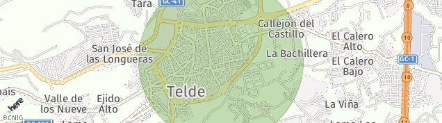Mapa Telde