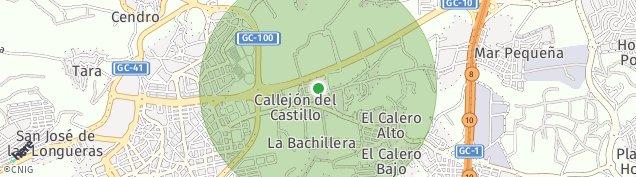 Mapa San Juan de Las Palmas