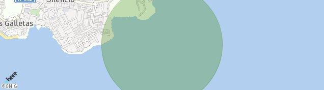 Mapa Las Galletas