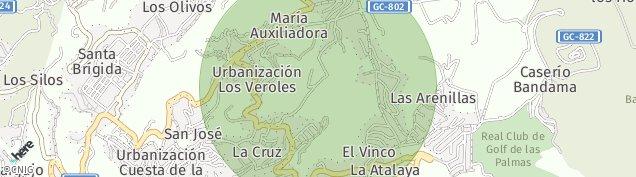 Mapa Santa Brígida