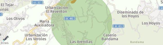 Mapa Monte Lentiscal