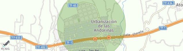 Mapa Las Chafiras