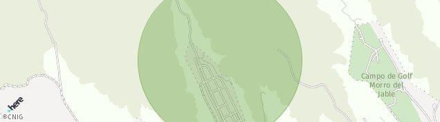 Mapa Morro Jable