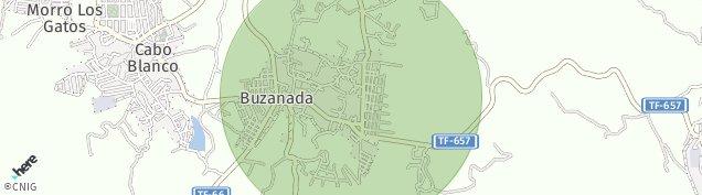 Mapa Buzanada