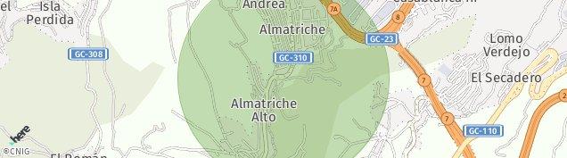 Mapa Almatriche Alto