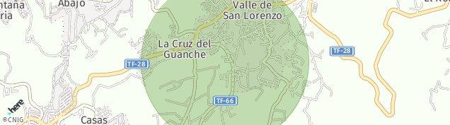 Mapa Valle de San Lorenzo