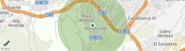 Mapa Hoya Andrea