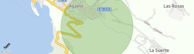 Mapa Agaete