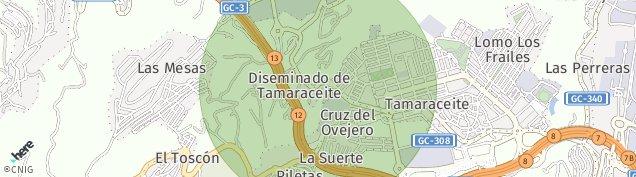 Mapa La Galera