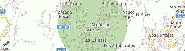Mapa La Cruz