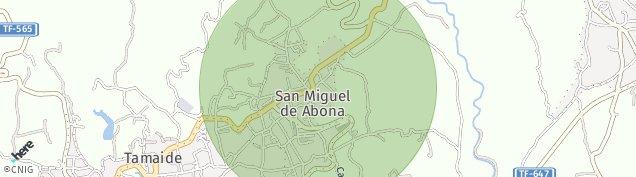 Mapa San Miguel de Abona