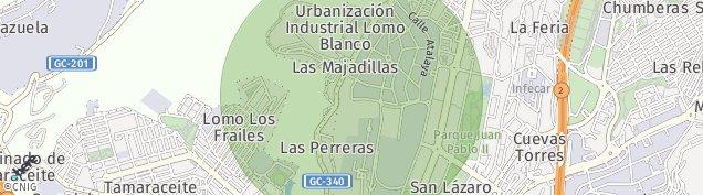 Mapa Tamaraceite