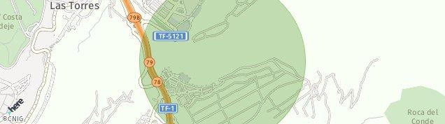 Mapa Fañabe