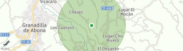 Mapa Granadilla