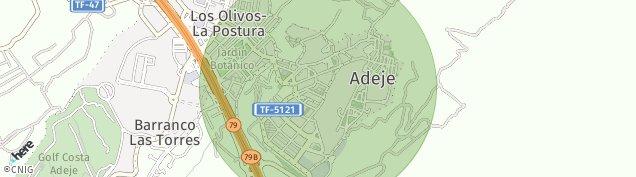Mapa Las Nieves