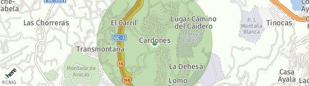 Mapa Cardones