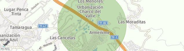 Mapa Armeñime