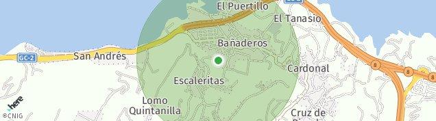 Mapa Bañaderos