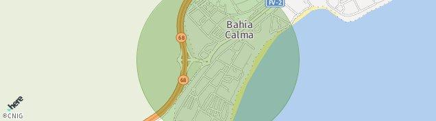 Mapa Bahia Calma