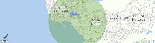 Mapa Playa San Juan