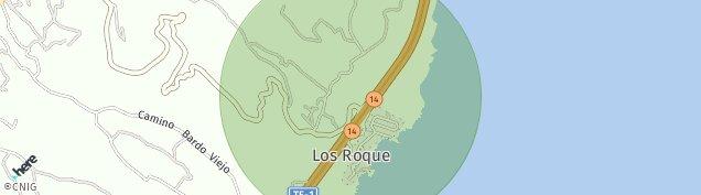 Mapa Los Roque