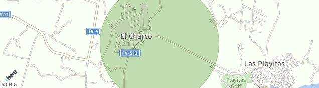 Mapa El Charco