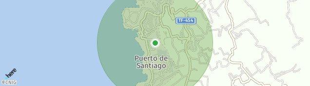 Mapa Puerto de Santiago