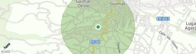 Mapa Güímar