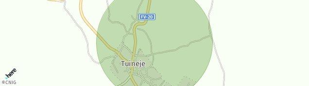 Mapa Tuineje