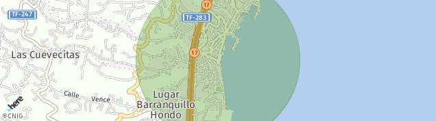 Mapa Paseo Industrial Candelaria